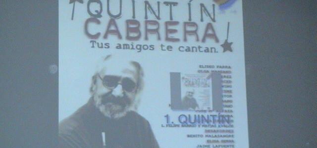 Quintín Cabrera, otro de los imprescindibles en el recuerdo..