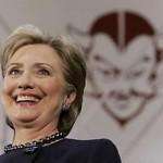Hillary la INMUNDA*.. y por qué no una lavadora..?