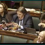 """Así """"trabajan"""" Sus Señorías los parlamentarios europeos. """"Book"""" de fotos."""
