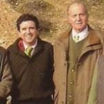 """Album de fotos:El Rey Juan Carlos, Diaz Ferrán, Arturo Fernández y Jaume Mata. Un día de caza en """"malas compañías"""".."""