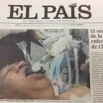 """El día que """"El País"""" volvió a """"matar"""" a Chávez (o al menos lo intentó y consiguió entubarlo..)"""