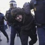 Lecciones de democracia; la policía siempre pega a los mismos, en España, Francia, Bélgica.. (nunca a los empresarios)