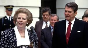 tatcher y reagan