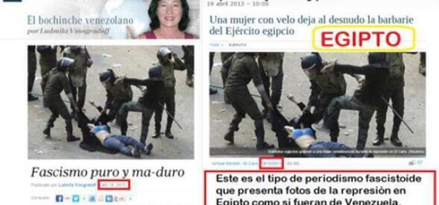 Venezuela y el falsimedio; crimen de lesa realidad..