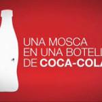 Por qué nunca aparece una mosca en una botella (de cocacola)? Sobre los grandes medios de comunicación.
