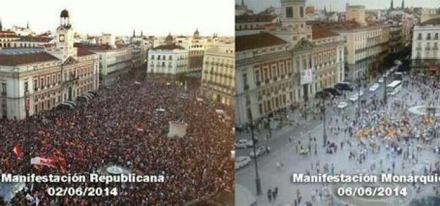 Monarquía o República? Opinión pública y opinión publicada…